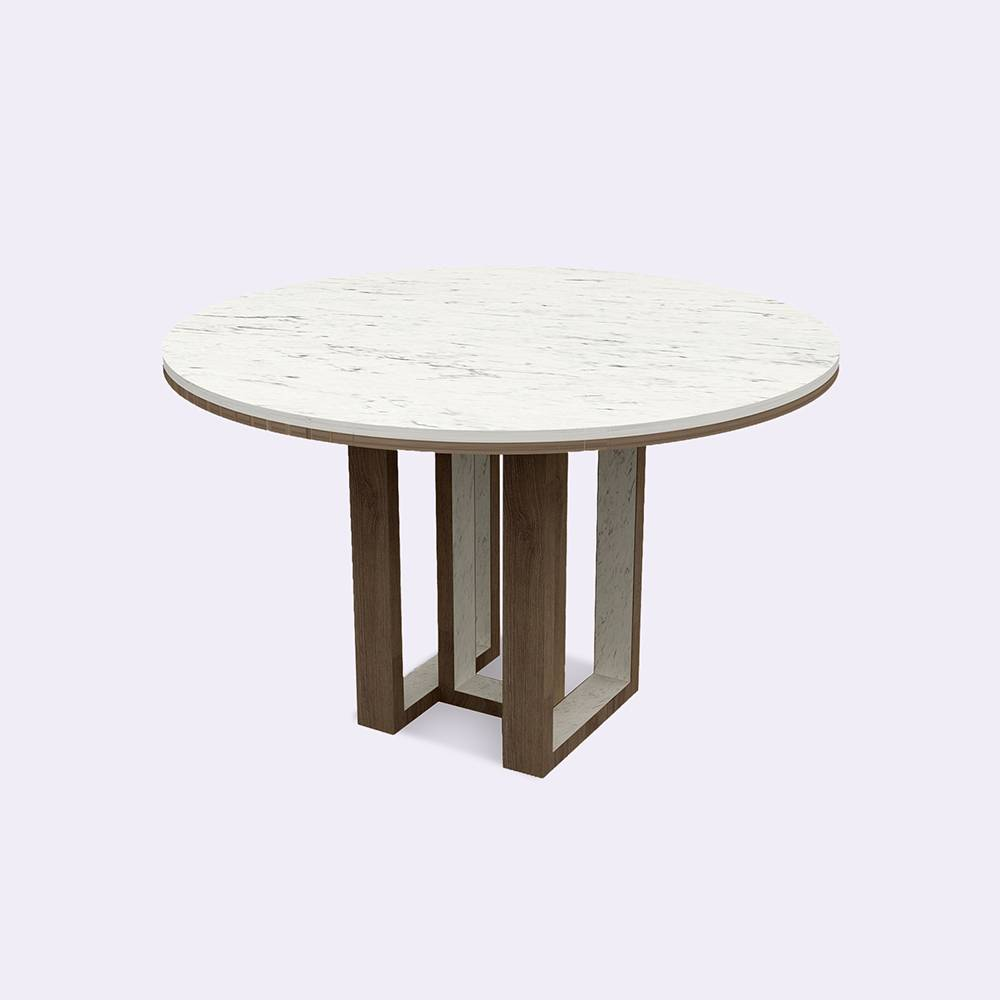 Round Meeting Table 08