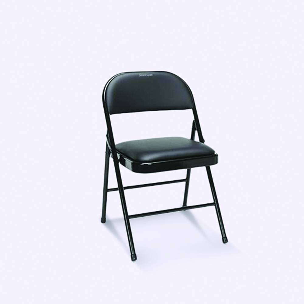 Folding Chairs with Padded Seats- 01
